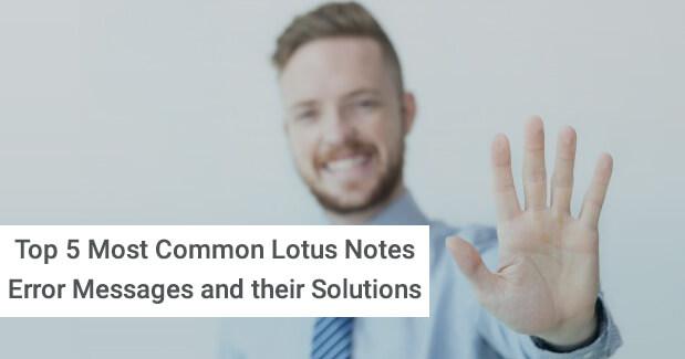 Notes Error