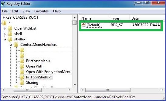 Lotus Notes Error 1325 Registry Editor