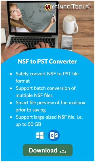 SysInfo NSF to PST Converter