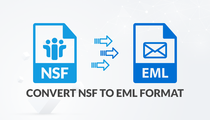 how to convert nsf to eml