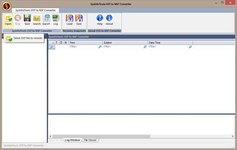 Star OST to NSF Converter full screenshot