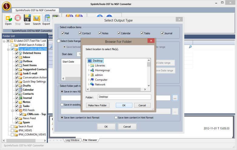 migrate ost to lotus notes