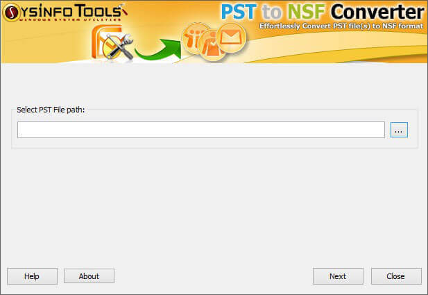 Windows 7 Outlook PST to Lotus Notes NSF 7.0 full